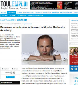 Touleco - Musika Orchestra Academy