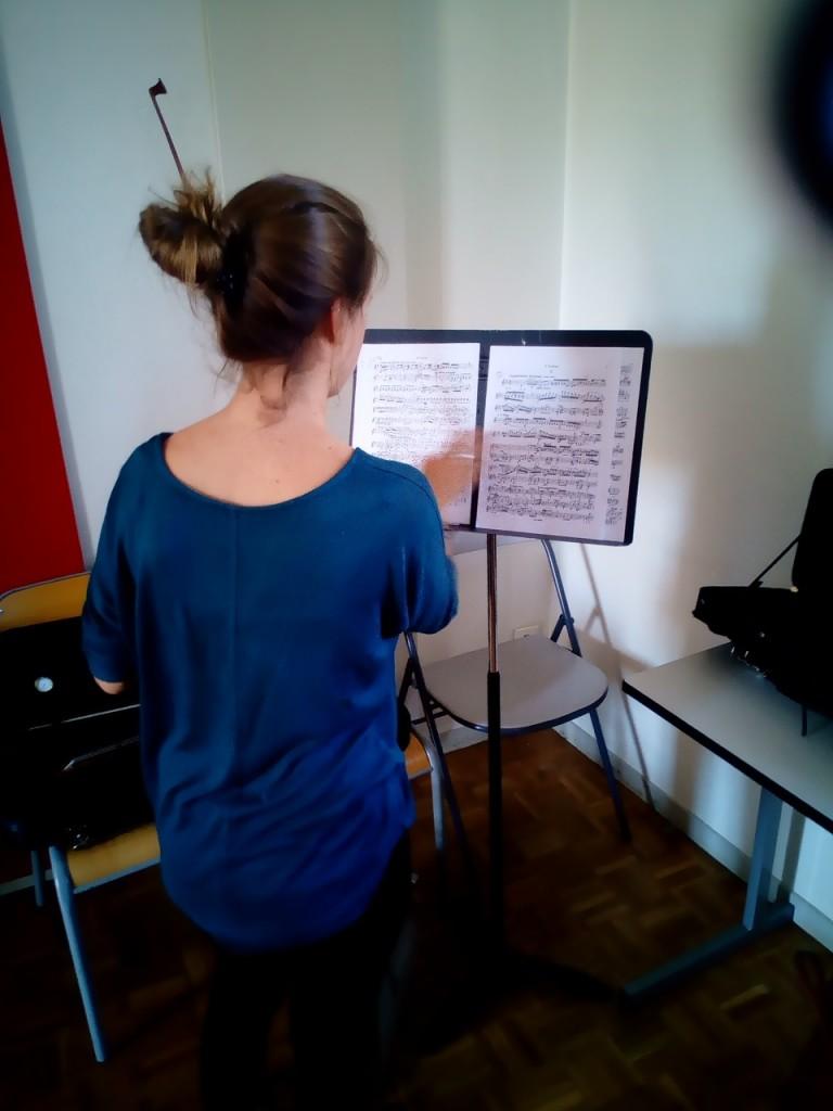 Musika Orchestra - préparation des musiciens