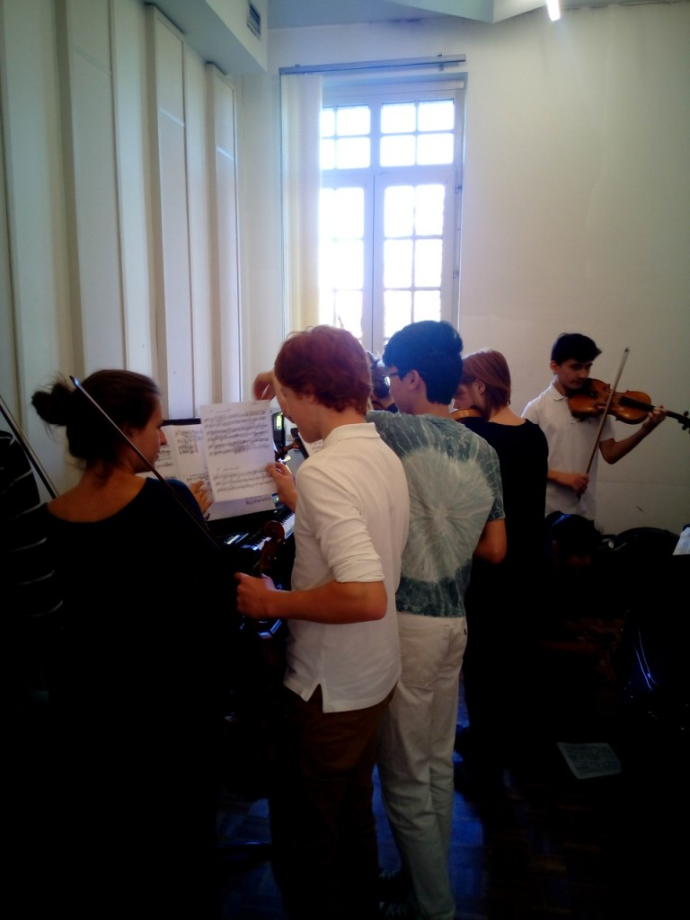 Musika Orchestra - tirage au sort du passage